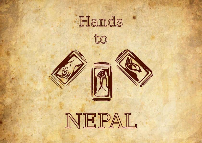 Hand to Nepal